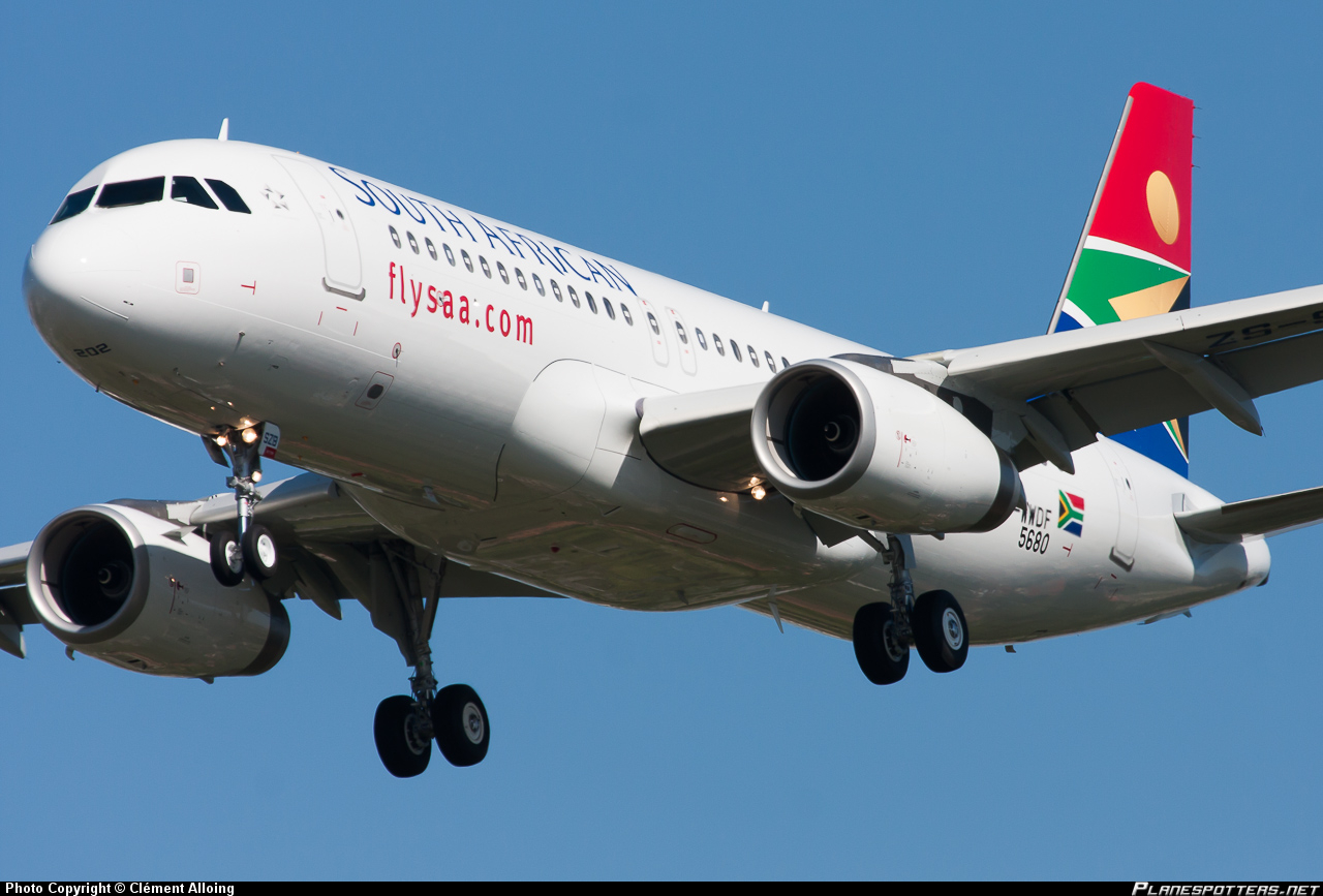 South African Airways Airbus A320